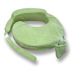 Deluxe Breastfeeding Maternity Pillow in Green
