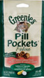Pill Pockets For Cats Salmon 1.6 oz Ct - Greenies