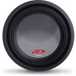 "Alpine SWR-T12 12"" Type R 1200 Watt 4-ohm shallow-mount subwoofer"