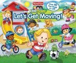 Let's Get Moving! by Matt Mitter (Board book)