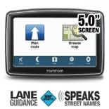 TomTom XXL550M Auto GPS - Free Lifetime Map Updates, 5.0 Touch Screen Display, Text To Speech, 7 Million POIs, Lane Guidance, United States/Canada/Mexico Maps
