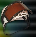 Magic Light Police Helmet