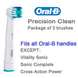Braun Oral-B Precision Clean brushes (pkg. of 3)