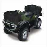 QuadGear Extreme Evolution ATV Front Rack Bag in Black