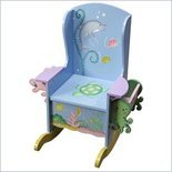 Teamson Kids Under the Sea Hand Painted Potty Chair - W-9841A