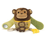 Hug & Hide Activity Toy - Monkey