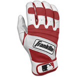 Franklin Natural II Batting Gloves - Mens - Pearl/Maroon