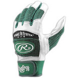 Rawlings The Workhorse Batting Gloves - Mens - Dark Green